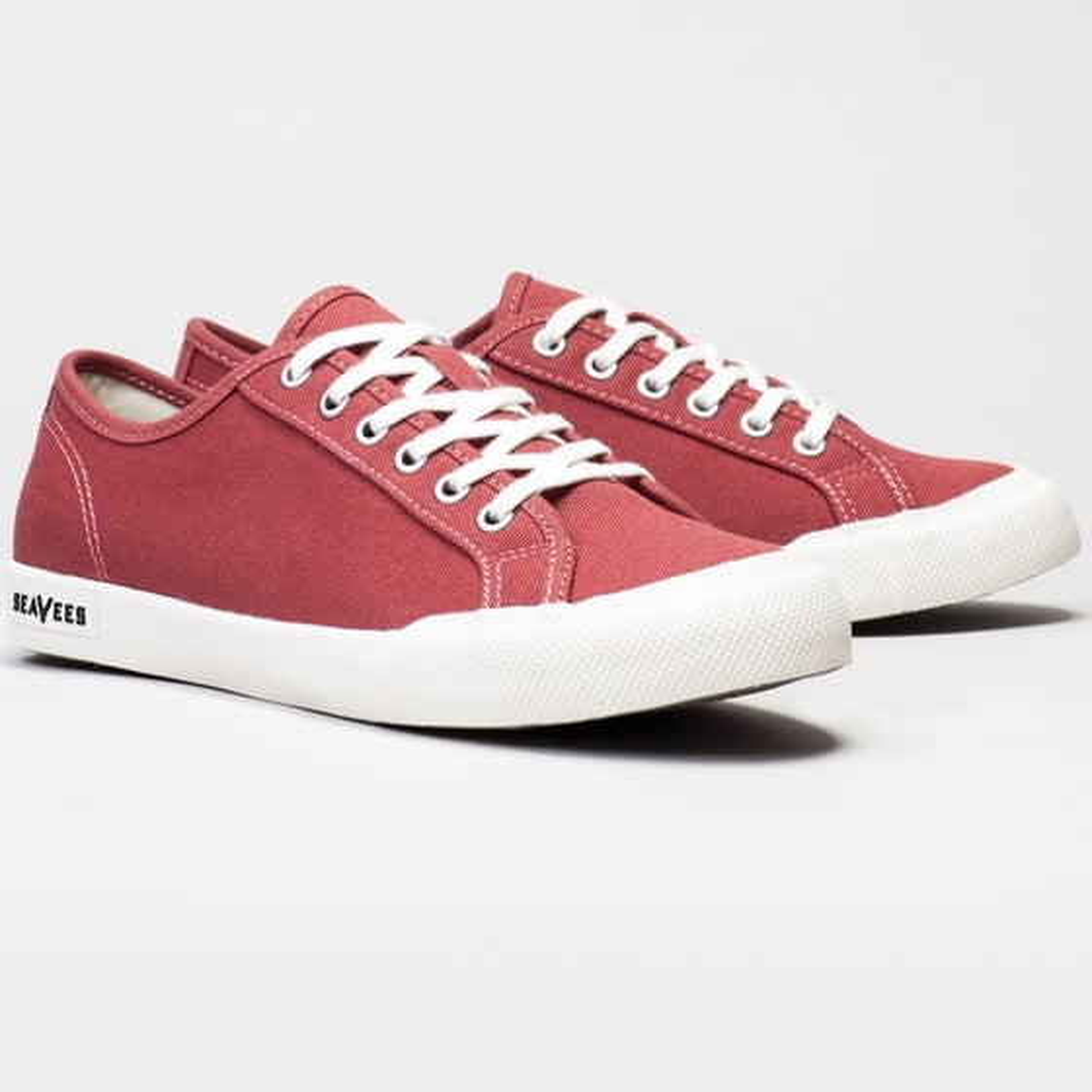 2016 Seavees Womens Monterey Sneaker in Red Ochre