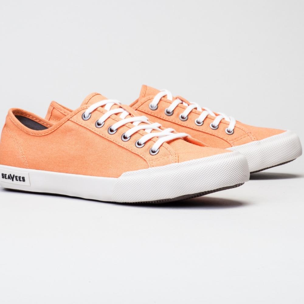 2016 Seavees Womens Monterey Sneaker Tangerine
