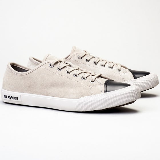 2016 Seavees Womens Army Issue Suede Sneaker in Putty