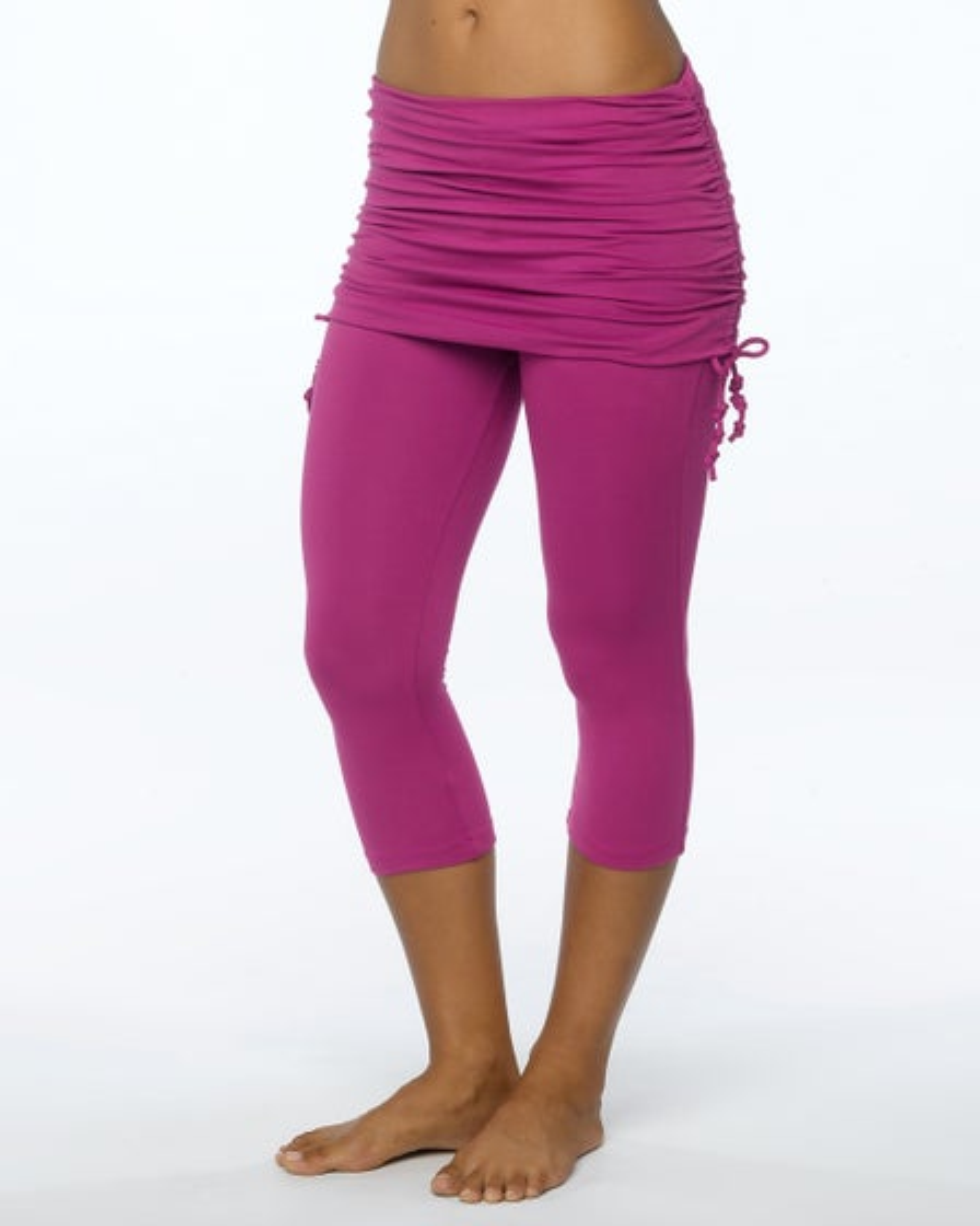 2015 Prana Activewear Cassidy Capri in Vivid Viola