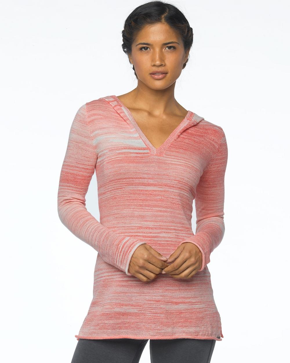 2015 Prana Activewear Gemma Sweater in Neon Orange - Front