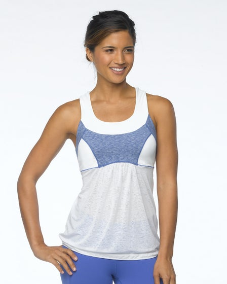 2015 Prana Activewear Piper Top in White