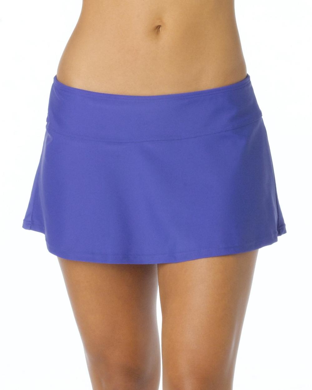 2015 Prana Activewear Sakti Swim Skirt in Sail Blue - Front