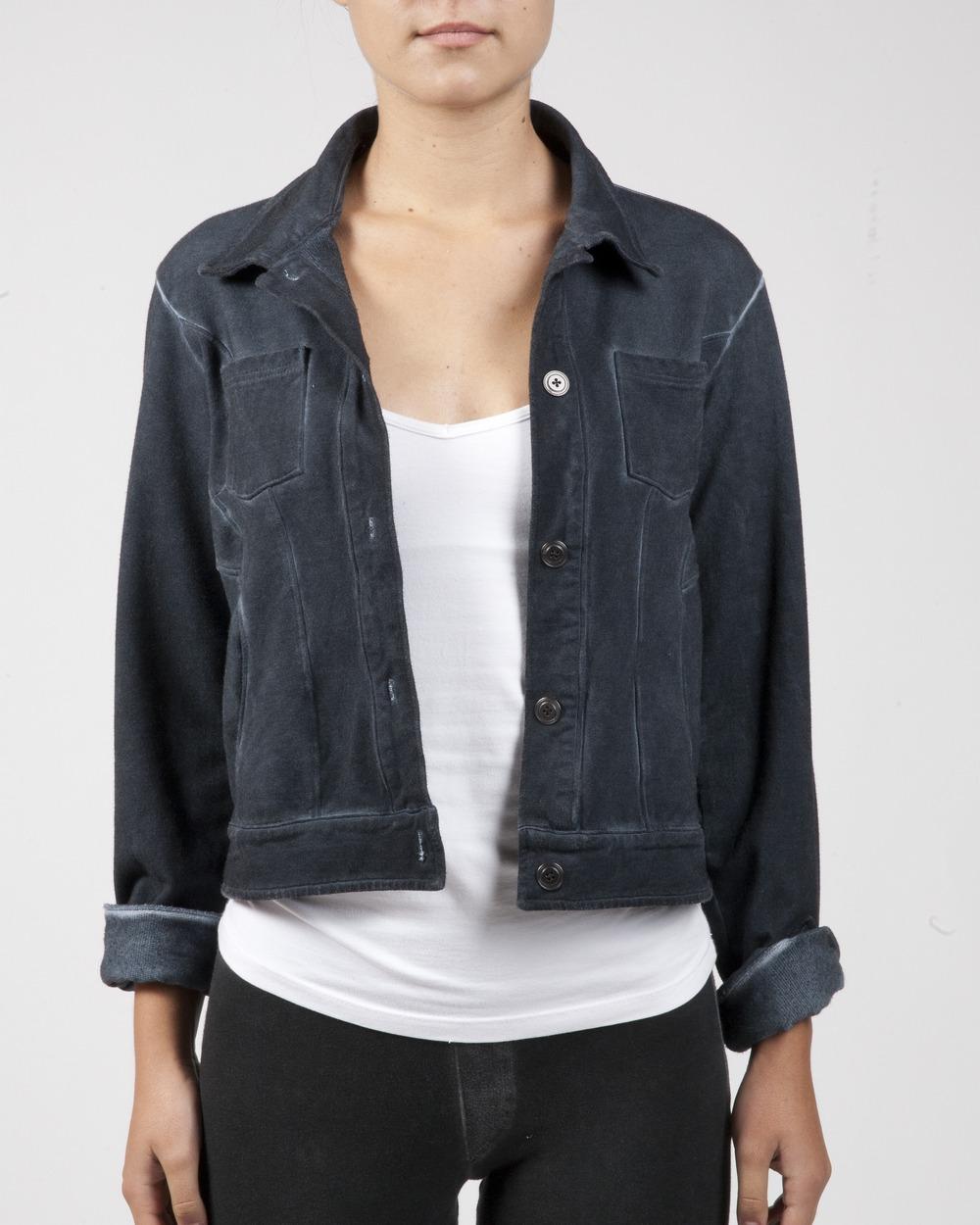 2016 Morrison Grey Rebel Jacket Dark Indigo