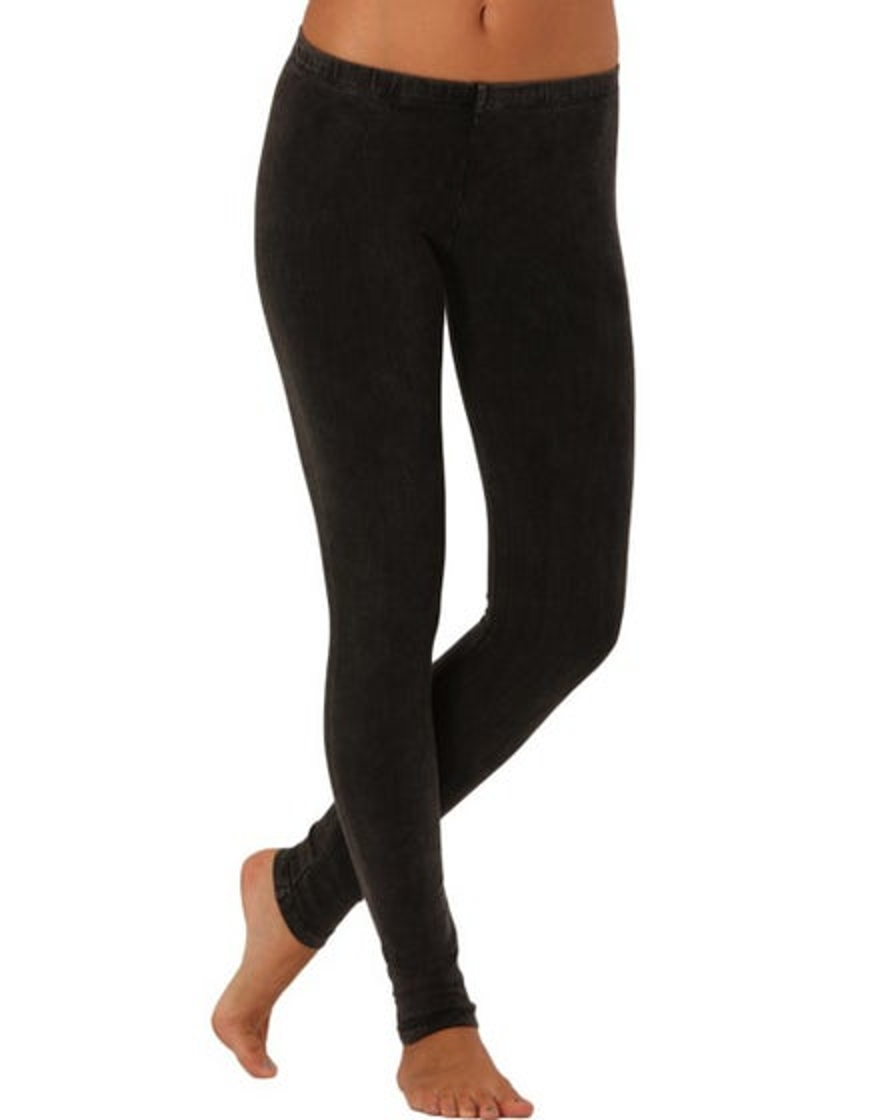 Electric Yoga Acid Wash Legging Black