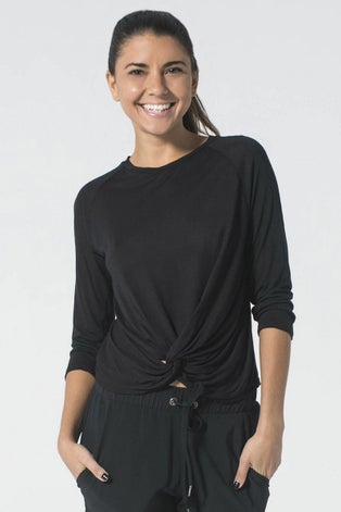 925fit Black Do's and Don'ts Top