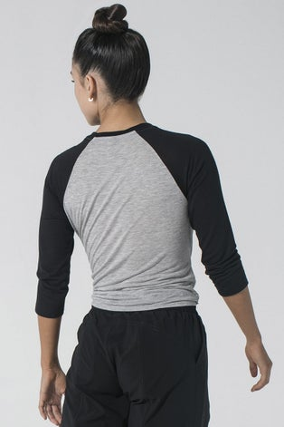 925fit Heather Grey Do's and Don'ts Top