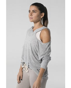 925fit Heather Grey From The Hoodie Top