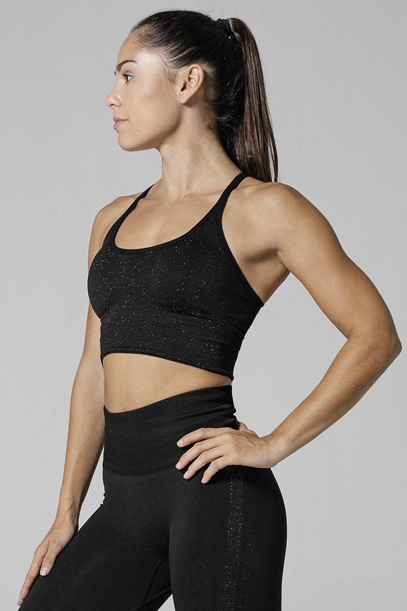 925fit Black X It Sports Bra