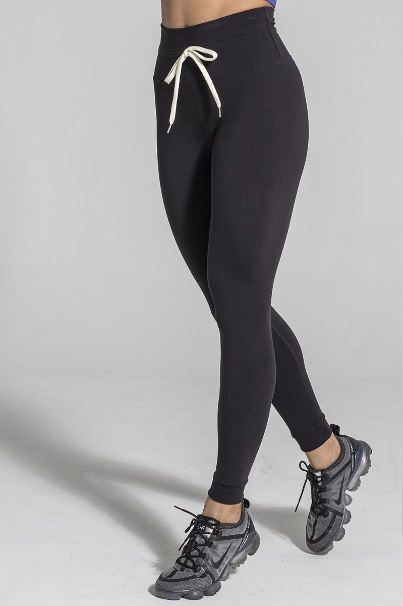 925fit Black Waist of Time Legging