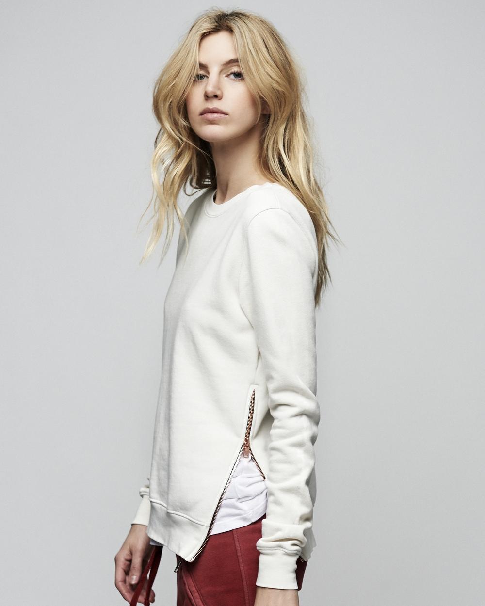 Cotton Citizen Side Zip Sweatshirt