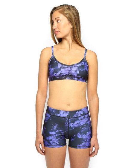 2015 Electric & Rose Zeno Shorts in Purple Floral