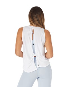Glyder White Electric Tank
