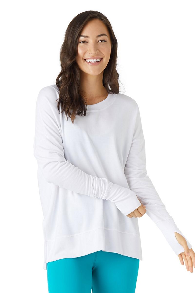 Glyder White Lounge Long Sleeve