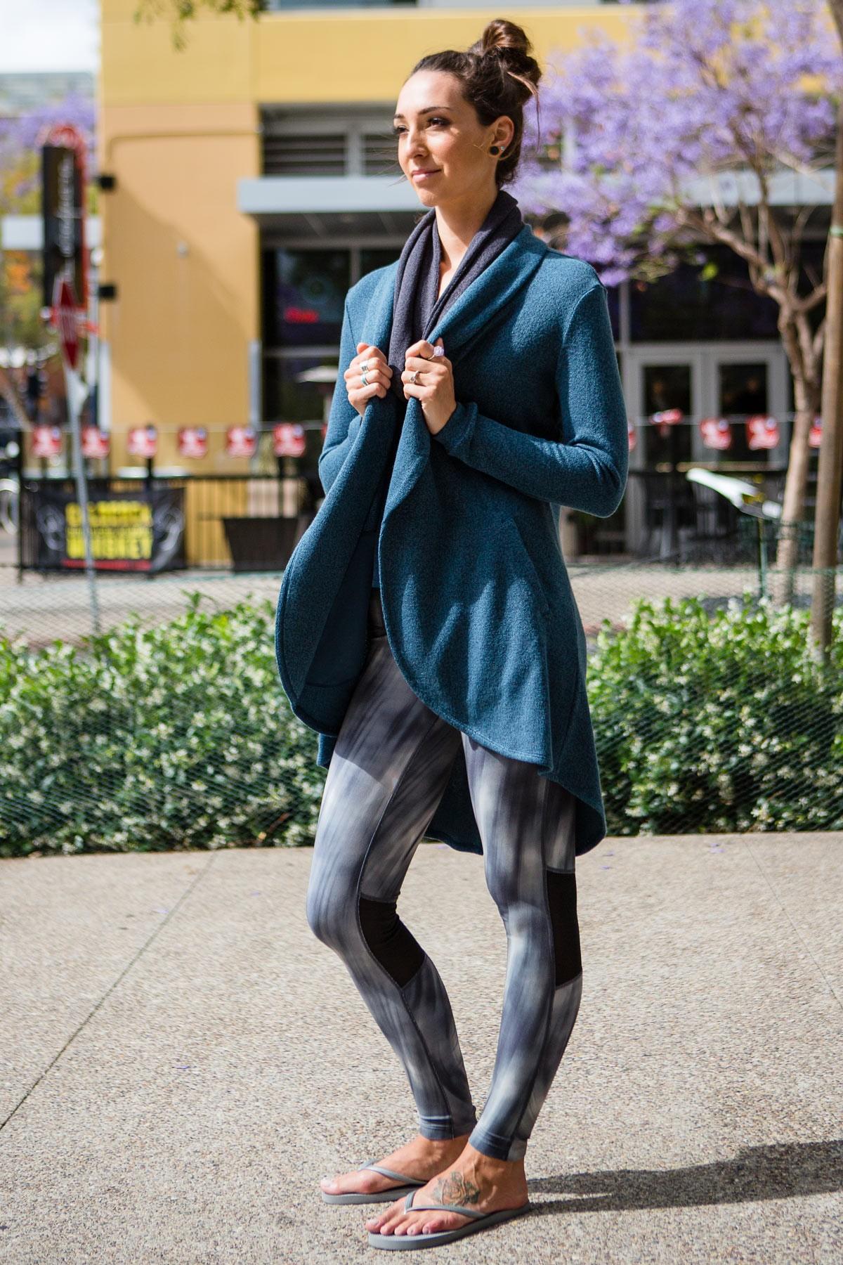 2016 Cozy Orange Summit Jacket in Heather Turkish Tile