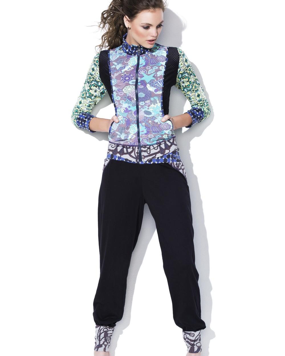 2015 Maaji Studio Activewear Dazzling Dark Yoga Pants