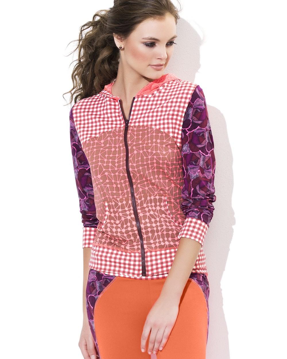 2015 Maaji Studio Activewear Spring Peachy Pink Jacket