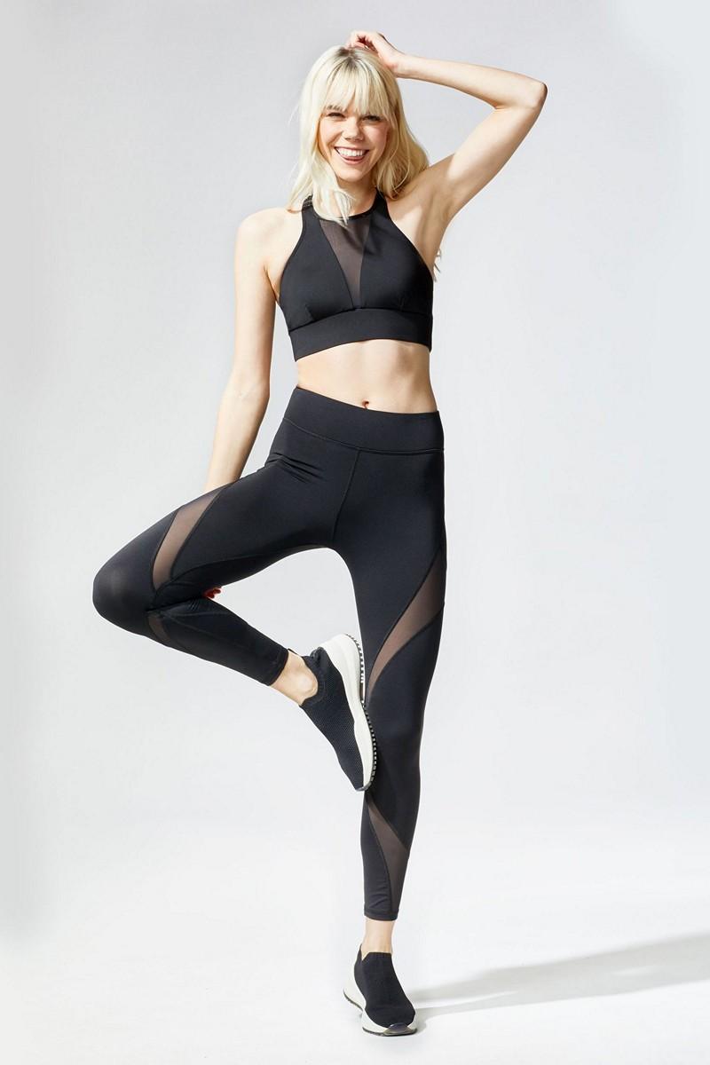 Michi Black Inversion Legging