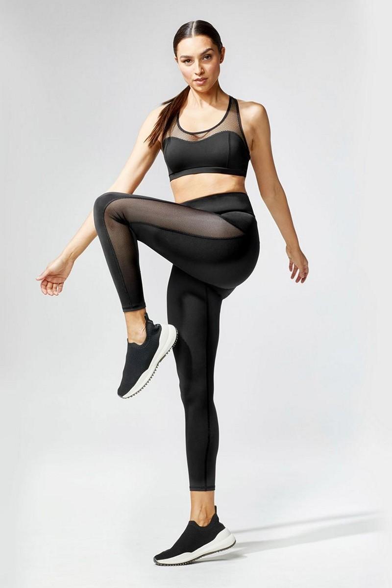 Michi Black Stardust Legging
