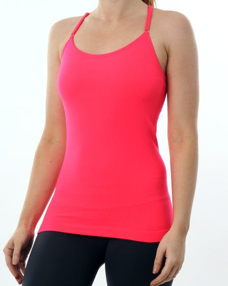 Nux Focus T-Back Cami in Glow