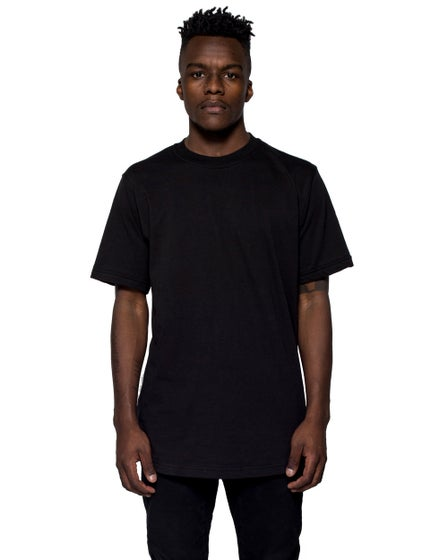 Perspectives Essential Elongated Curved Tee