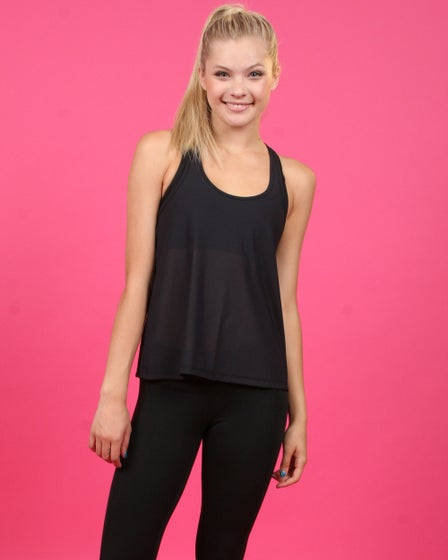 RESE Activewear Power Mesh Lacy Tank