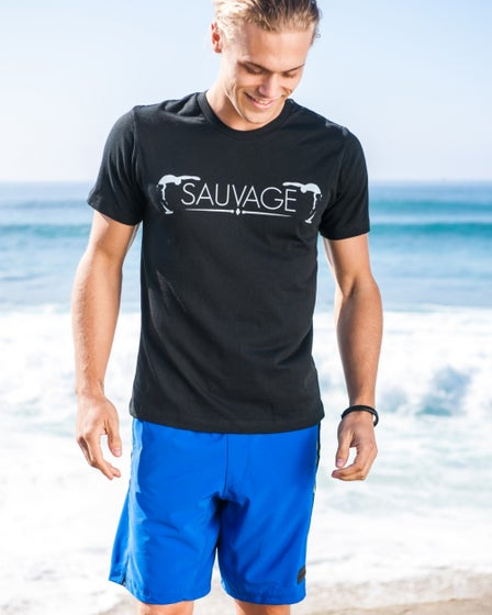 2015 Sauvage Active Men's Tabu Crew Neck T-Shirt