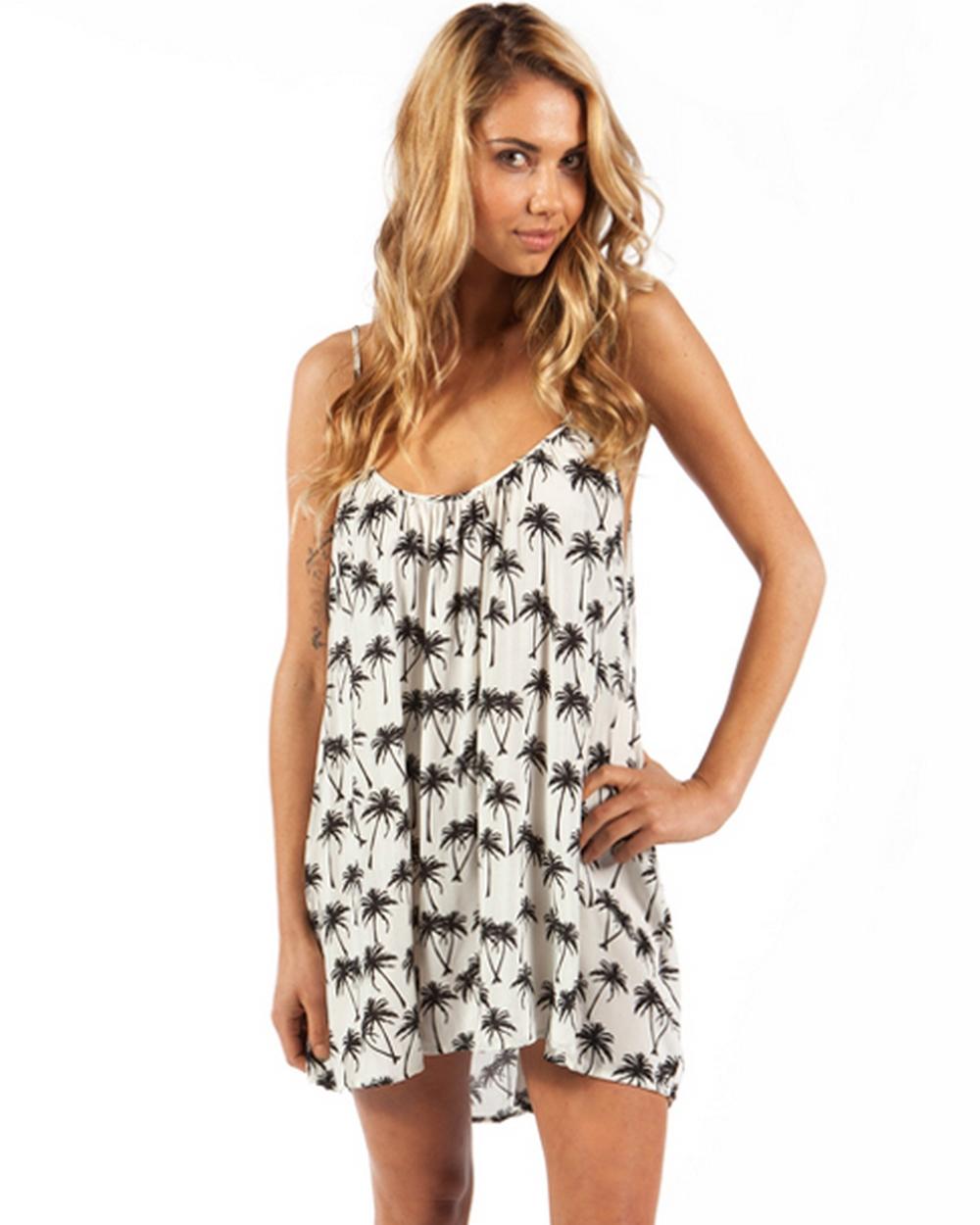 Tavik Black Palm Mia Dress