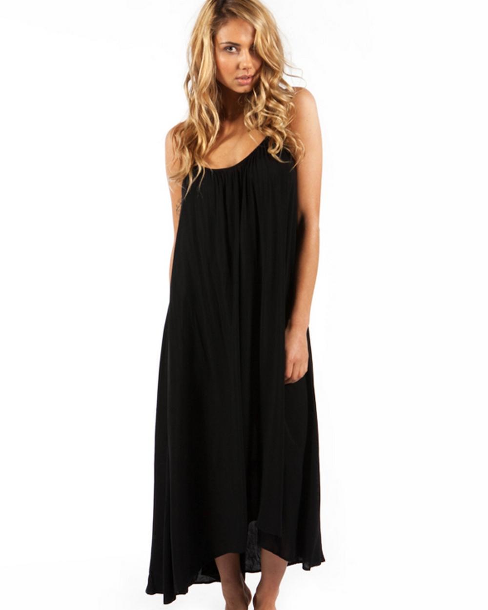 Tavik Black Stella Maxi Dress