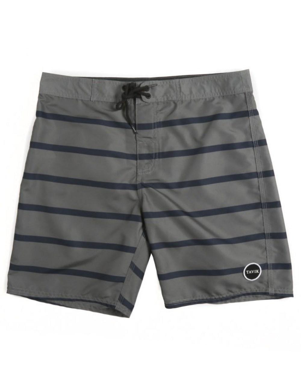 2015 Tavik Men's Gray Capital Boardshort - Front