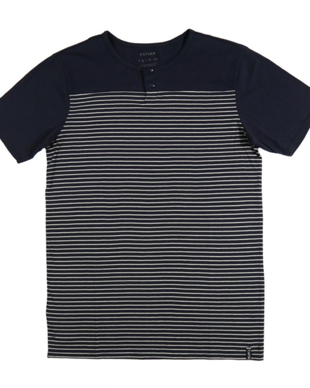 2015 Tavik Men's Indigo Cooper Shirt - Back
