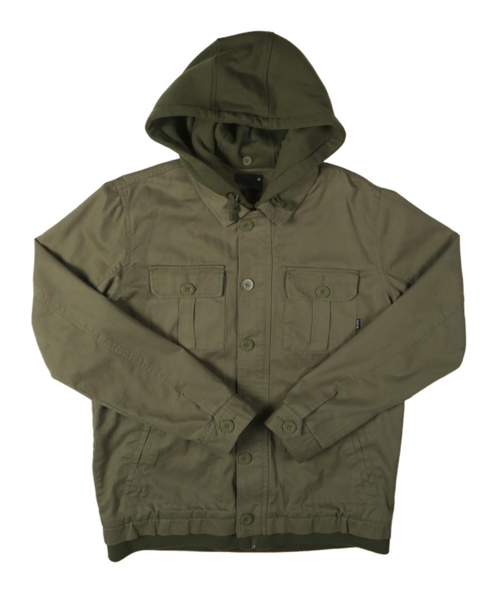2015 Tavik Men's Army Droogs Jacket - Front