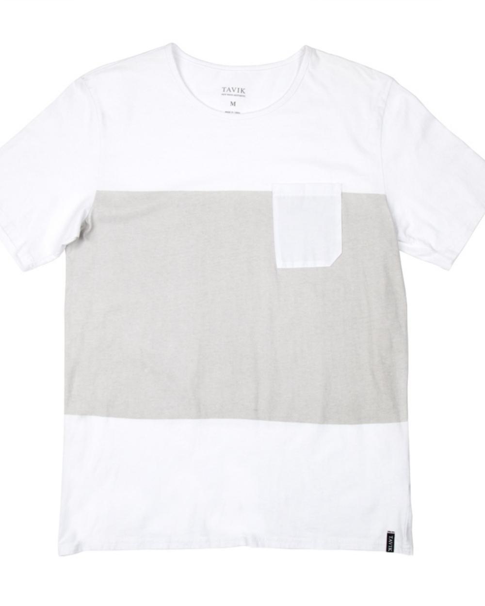 2015 Tavik Men's White Lux Knit