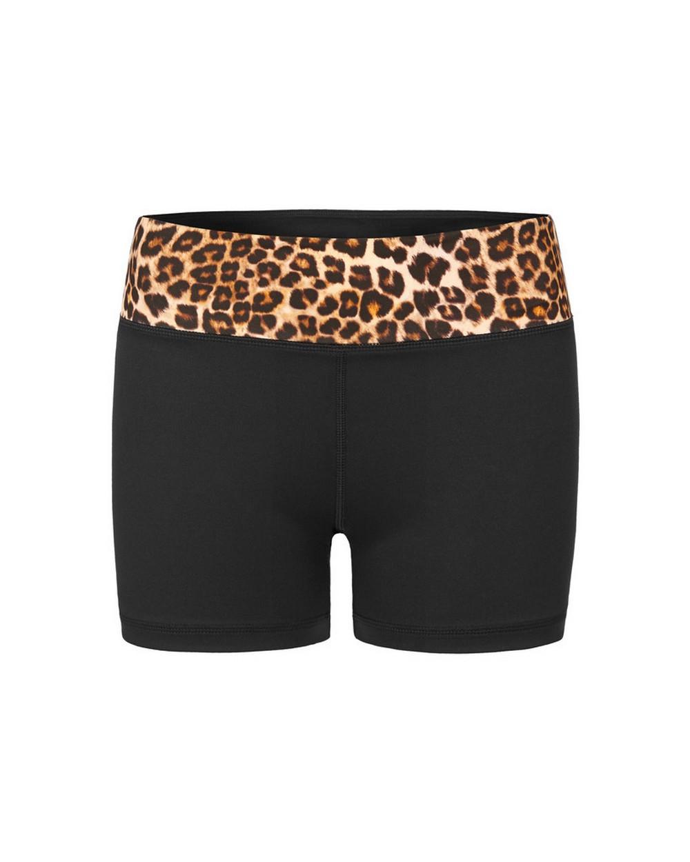 Vie Active Leopard Tanya Dance Shorts