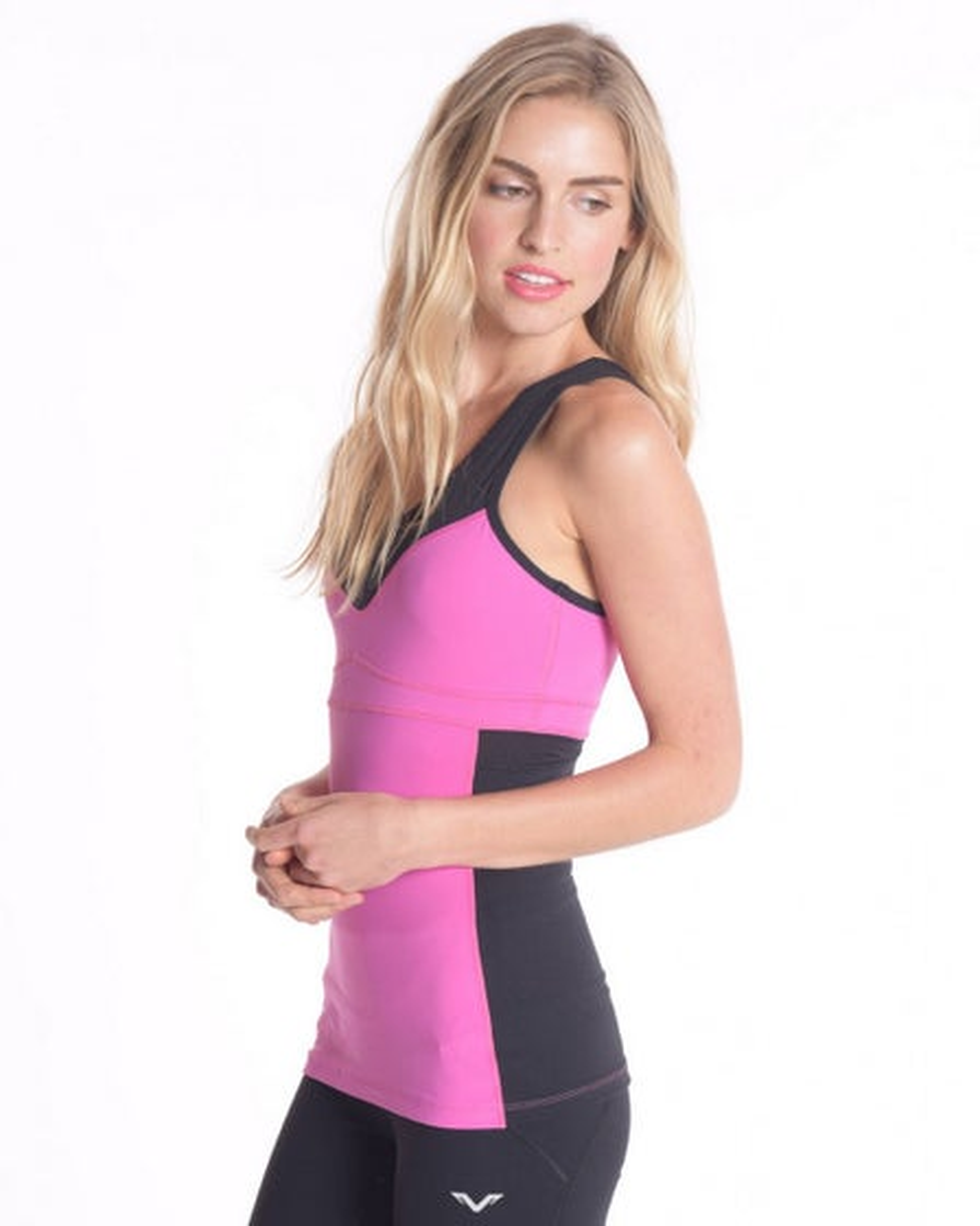 2016 Vipe Activewear Gem Tank Hot Pink